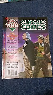 doctor who classic comics - ISSUE 27 (with telesnaps)