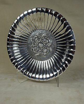 1960s Handwrought Turkish .900 Pure Silver Bowl of 14.6 troy oz.  $700 retail