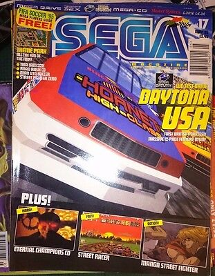 Official Sega Magazine Issue 17 May 1995 EMAP UK