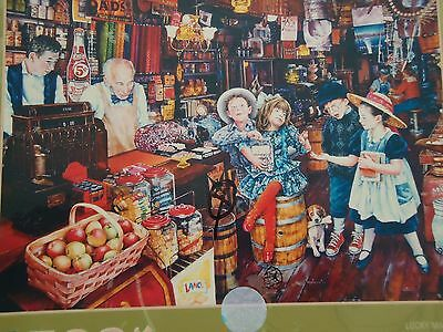 Susan Brabeau 500 piece Jigsaw Puzzle Lucky Marbles Antique Country Store