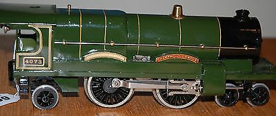 Hornby Series O Gauge Caerphilly Castle In Gwr Green Livery Refurbished