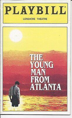 Young Man From Atlanta (1997) Playbill, Longacre Theatre - Rip Torn & Shirley K