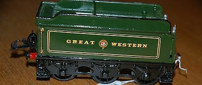 Hornby Series O Gauge Caerphilly Castle Tender In Gwr Green Livery Refurbished
