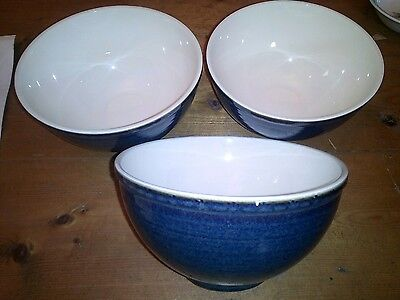 Bhs Brecon Blue White Bowls