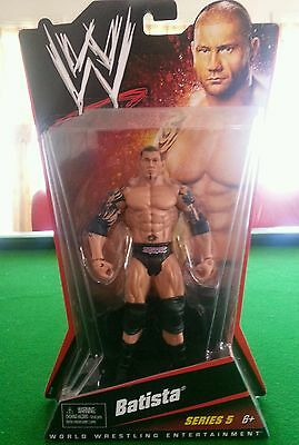 WWE BATISTA The Animal Action Wrestling Figure - Mattel Series 5 COLLECTABLE