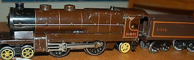 Hornby Series O Gauge Electric Nord Locomotive With Tender Brown Livery