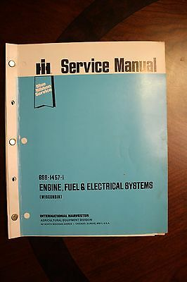 Wisconsin Engine, Fuel & Electrical Systems IH Blue Ribbon Service Manual