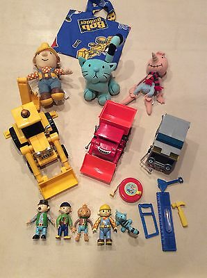 Bob The Builder  Vehicles TV Characters Figures tools toys