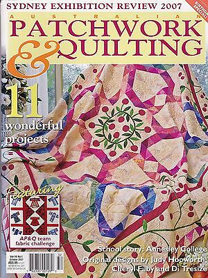 Patchwork & Quilting magazine - Vol 16 no 1 - 11 projects