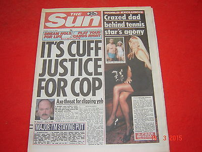 The Sun newspaper. 14th June 1994. Page 3 Debi Jackson. excellent condition.