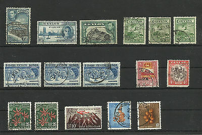 Ceylon Stamps Fine Used Condition