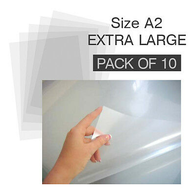 Extra Large Clear Plastic Acetate Sheets 10 Pack, Cake Decorating, Art & Craft
