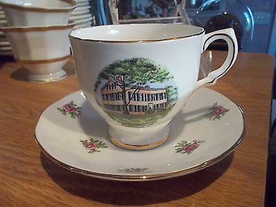Souvenir SALISBURY Cup & Saucer-My Old Kentucky Home, Bardstown KY