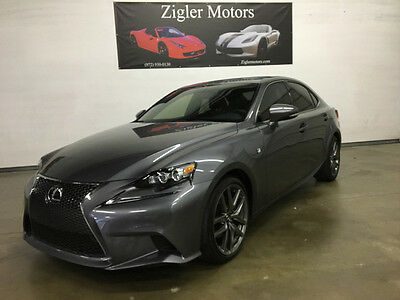 2014 Lexus IS  2014 lexus IS250 F-Sport,One owner,clean carfax,27kmi,New car warranty  03/18