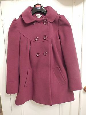 MONSOON girls' purple coat age 10-12