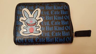 It's Happy Bunny accordion wallet Cute But Kind of Evil