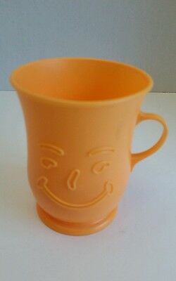 OH YEAH!!!! Vintage Orange Koolaid Plastic Cup Kool-Aid