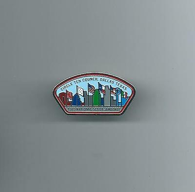 Boy Scouts Circle Ten Council 1989 Jamboree Pin