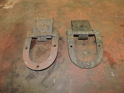 Antique Big Four/4 Pair of Used Roller Track Hinges, 2 of 3 Listed