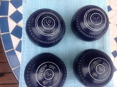 Green master lawn bowls power size4