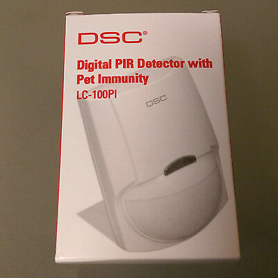 Lot Of 4 Dsc Lc-100-Pi Digital Pir Motion Detector With Pet Immunity Up To 55 Lb