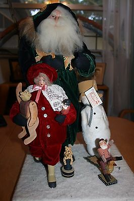 """House of Hatten Norma Decamp Christmas Past Diorama 18-1/2""""  NOS"""