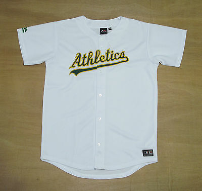 Oakland Athletics - Youth 13-15 Years Old - Majestic MLB Baseball Jersey - New
