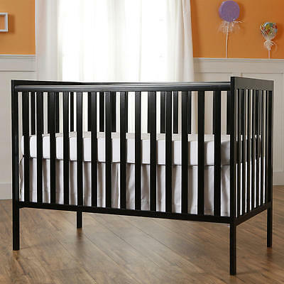 Dream On Me Synergy5 in 1 Convertible Crib - Black