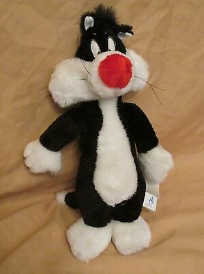 New Vintage 1995 Ace Novelty Co Looney Tunes Sylvester the Cat Plush Stuffed Toy