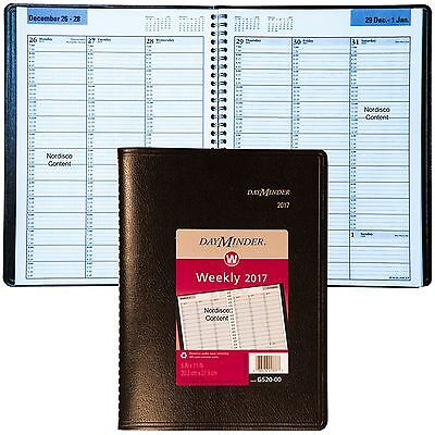 """2017 DayMinder G520 Weekly Professional Appointment Book, 8 x 11"""""""