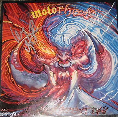 Motorhead Another Perfect Day Lp Signed By Lemmy Kilmister Bronze Label