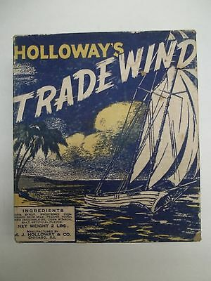 Vintage Holloway's TRADEWIND Candy Box 5c - 2lbs - Holloway & Co Chicago