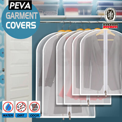 zz10x Suit Dress Clothing Dust Cover Bags Jacket Wardrobe Storage Coat Protector