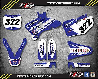 Full Custom Graphic Kit PREMIERE STYLE Yamaha YZ 450 F 2003 2004 2005 stickers