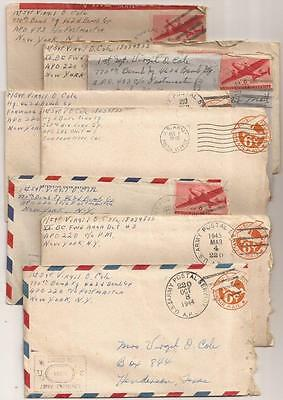 WWII Letters. 770th Bomb Squadron, 462nd Bomb Group. B-29 Superfortress Bombers.