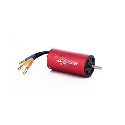 Leopard 3674 4-Pole Brushless Inrunner Motor 1900KV For RC Boat Car EDF USA!!