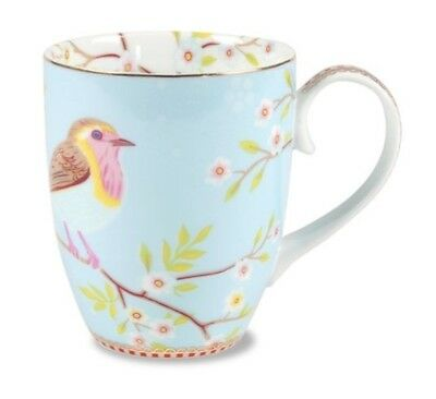 PIP Home Studio Mug BIG FLORAL EARLY BIRD Blue -Passionate Inspirational Product