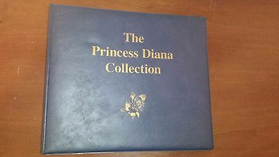 The Princess Diana Worldwide Stamp Collection 50 - PAGES WORTH OF STAMPS ! !