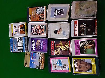 8 Track Cartridges / Music / Grease, Mancini, Perry Como, Stylistics, Various