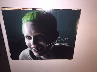Amazing JARED LETO Signed Autographed 11x14 Photo SUICIDE SQUAD