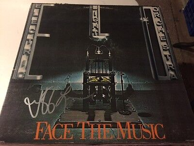 Jeff Lynne ELECTRIC LIGHT ORCHESTRA Signed FACE THE MUSIC Album LP