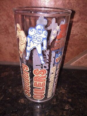 Welch's 1976 Collector Series Drinking Glass - AFC Central Division