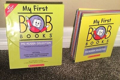 My First Bob Books Pre-Reader Edition FREE SHIPPING
