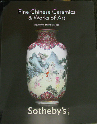 SOTHEBY'S Fine Chinese Ceramics & Works of Art – 3/17/2009
