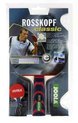 Table Tennis Bat Rosskopf Classic with Flared Grip Competition Level Racket 3cm