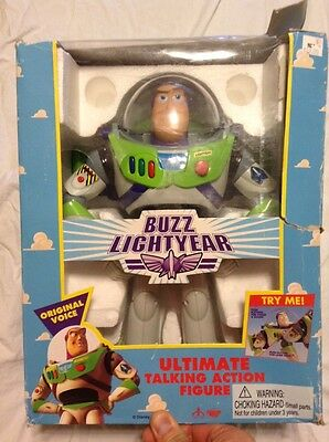 Buzz Lightyear #62809 Toy Story 1995 Edition ThinkWay~