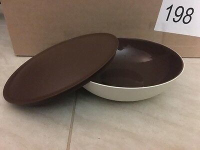 Tupperware 1.5L Brown Allegra Bowl With Seal