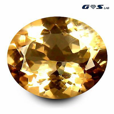 3.30 ct GSL Certified Romantic Oval Cut (12 x 10 mm) Morganite Loose Gemstone