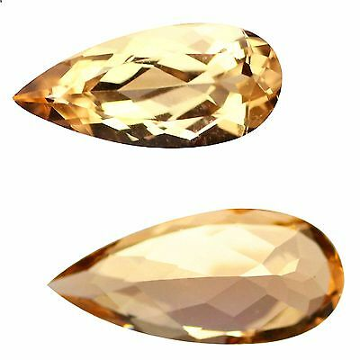 2.12 Ct, IF Pleasant Pear Cut 14 x 6 mm AAA, 100% natural Pink Morganite