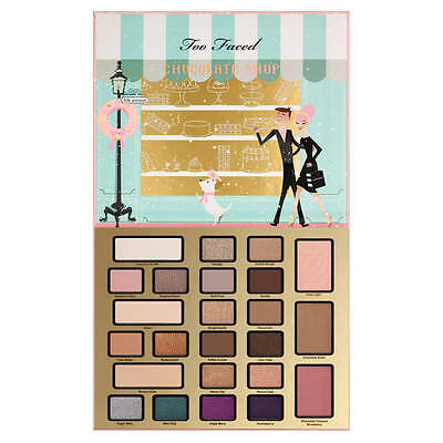 Too Faced The Chocolate Shop Christmas in New York 24 Colors Eyeshadow Palette